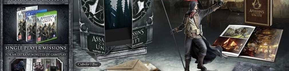 Распаковка коллекционных изданий Assassins Creed: Unity