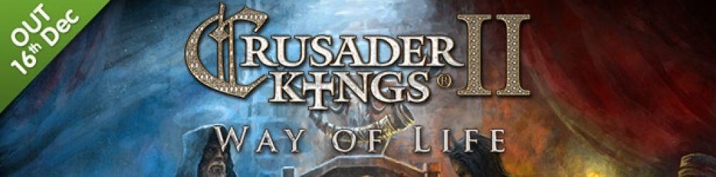 Crusader Kings II: Way of Life выйдет уже на следующей неделе.
