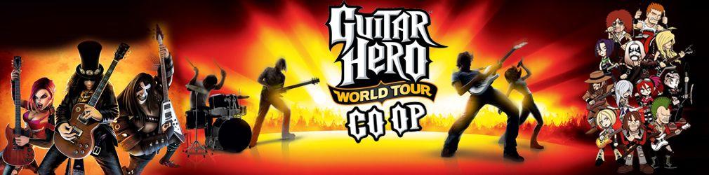 Запуск Guitar Hero III и World Tour в кооперативе + песни из других частей