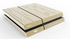 Золотая PlayStation 4