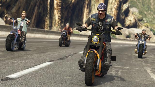 Дата релиза обновления «Байкеры» для GTA Online