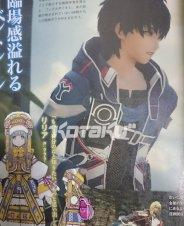 Фотографии материала Star Ocean 5 в Famitsu.