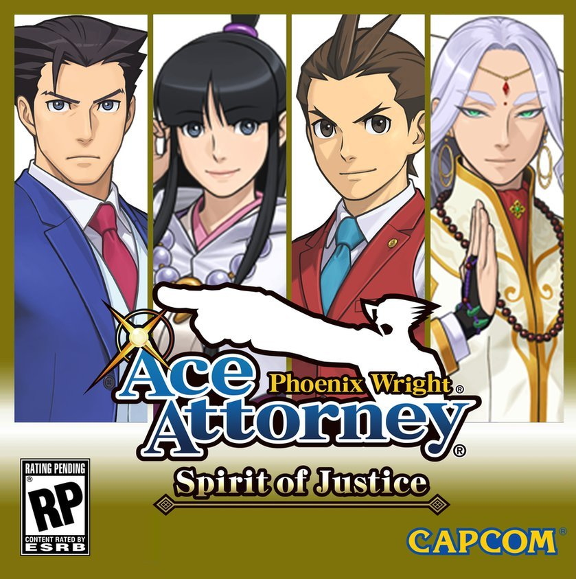 Ace Attorney When A Video Game Adaptation: Ace Attorney 6 (Phoenix Wright: Ace Attorney