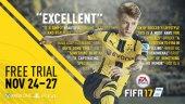 Бесплатные выходные в FIFA 17
