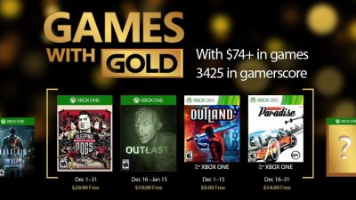 Games with Gold – декабрь 2016