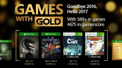 Games with Gold – январь 2017