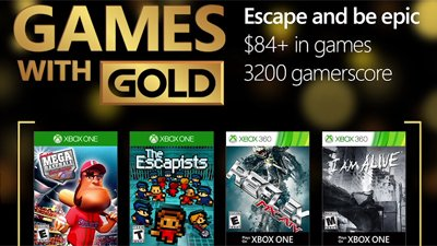 Games with Gold – октябрь 2016
