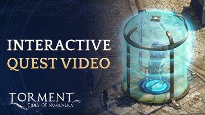 Интерактивное видео Torment: Tides of Numenera