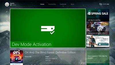 Любой Xbox One теперь можно превратить в комплект разработчика
