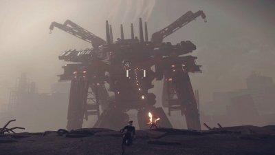 Новый геймплей трейлер NieR Automata