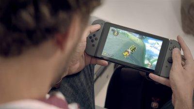 Новый рекламный ролик Nintendo Switch