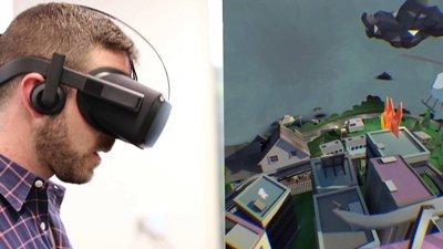 Oculus продемонстрировали беспроводную версию VR шлема