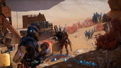 Оружие и навыки в Mass Effect: Andromeda
