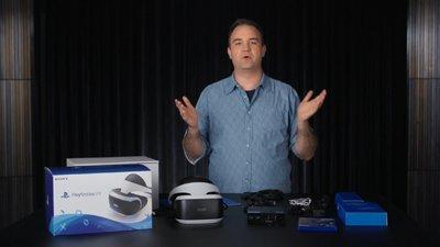 Распаковка PlayStation VR