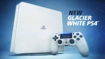 Скоро в Европе появится белая тонкая PlayStation 4