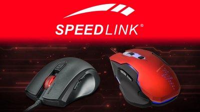 Speedlink представляет игровые мыши ASSERO и CONTUS