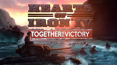 Тизер трейлер дополнения Together for Victory для Hearts of Iron IV