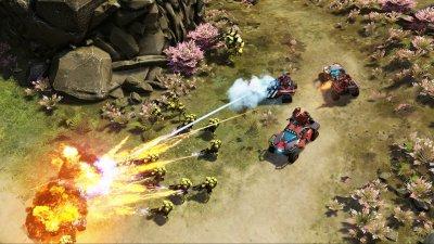 Туториал режима Блиц в Halo Wars 2