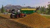 Уборка сахарной свеклы в Farming Simulator 17
