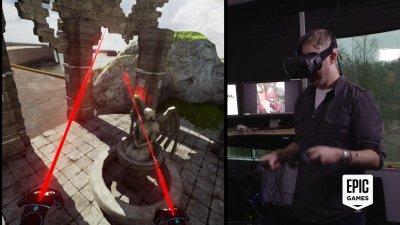 Unreal Engine 4 – создавай VR игры в VR