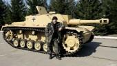 Видеорепортаж о реставрации немецкой штурмовой гаубицы Sturmhaubitze 42