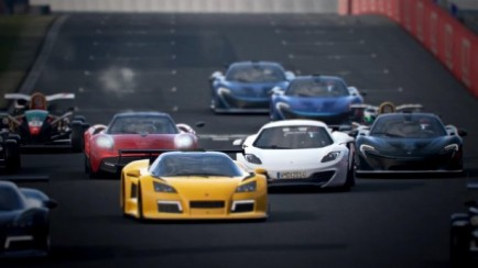 Project CARS - Driving in the Rain - Gamescom 2014 Trailer