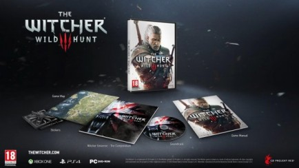 The Witcher 3: Wild Hunt - Standard's Edition Unboxing