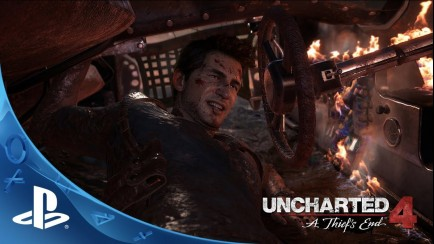 Uncharted 4: A Thief's End - E3 2015 - Sam Pursuit Gameplay