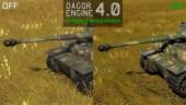 Dagor Engine 4.0 & NVIDIA Gameworks: New Technologies