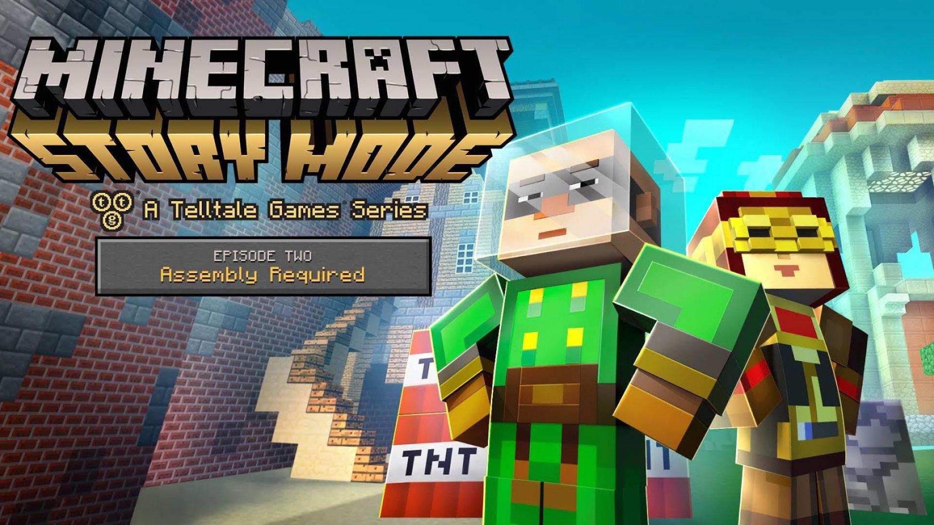 скачать второй эпизод minecraft story mode для андроид
