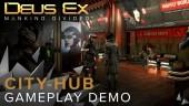 City-hub Gameplay Demo