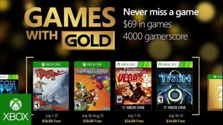 - Games with Gold - July 2016