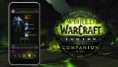 Приложение Companion для World of Warcraft: Legion
