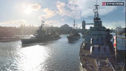 World of Warships - Британские крейсеры. Флот здесь!