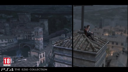 Assassin's Creed The Ezio Collection - Before/After Graphical Comparison