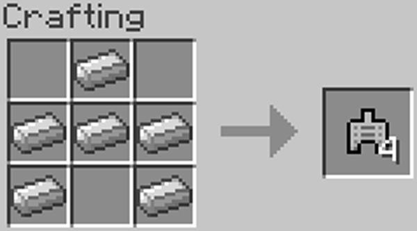 Как сделать танк в Майнкрафт?