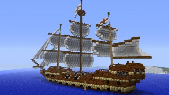 Корабль в Майнкрафт: как сделать и для чего нужен?