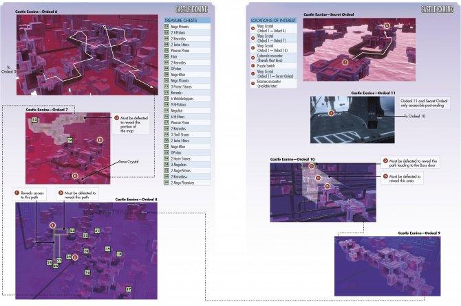 World of Final Fantasy – Карта – Castle Exnine