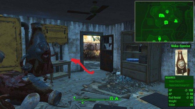 Рецепты Ядер-Колы в Fallout 4: Nuka World