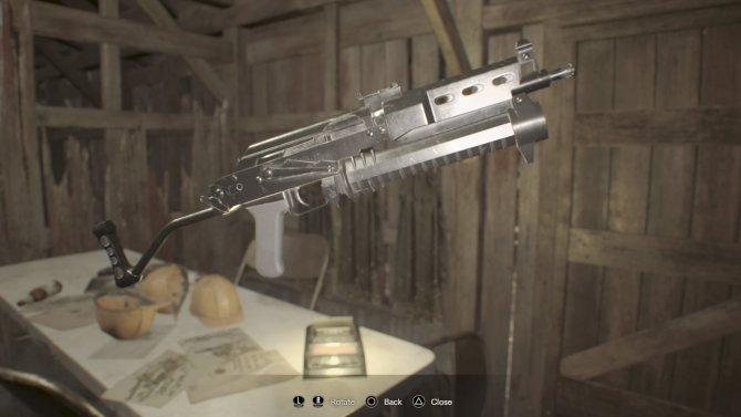 P19 Sub-machine Gun