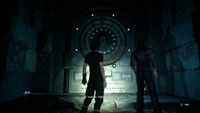 Как открыть огромные закрытые двери в данженах Final Fantasy 15