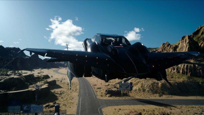 Как получить летающую машину (Регалию) в Final Fantasy 15