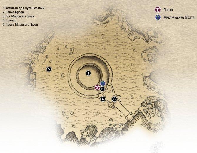 Прохождение God of War – Глава 16: Йотунхейм открыт (карта Озера Девяти)