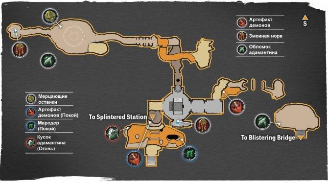 Прохождение Darksiders III – Алчность (карта Покоев Повелителя Пустот)