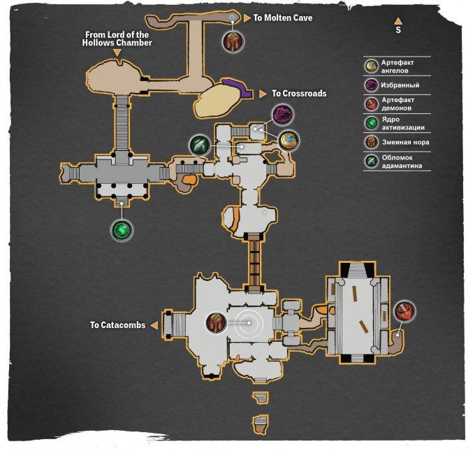 Прохождение Darksiders III – Алчность (карта Сверкающего Моста)