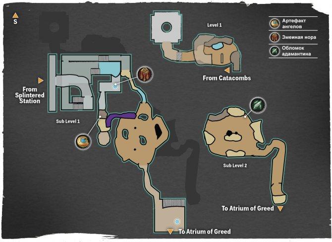 Прохождение Darksiders III – Алчность (карта Доступа)