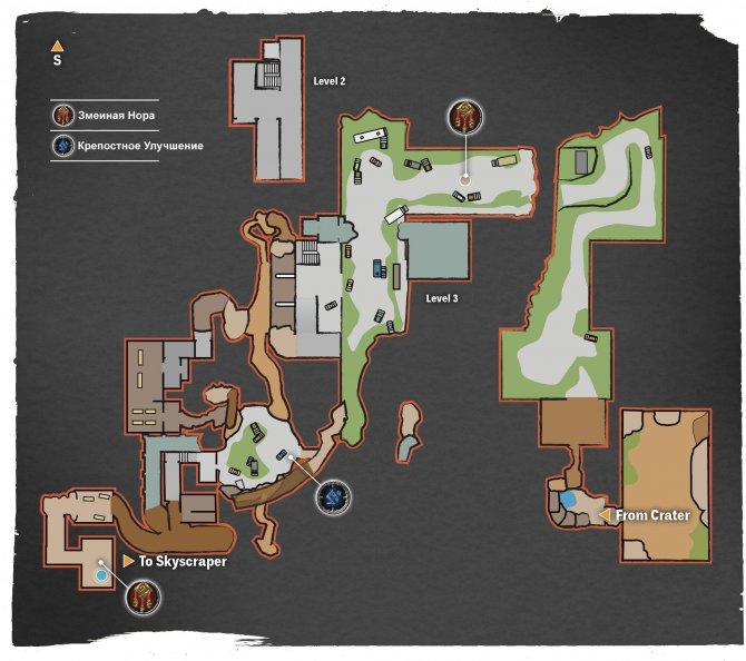 Прохождение Darksiders III – Гнев (карта Западного Конца)