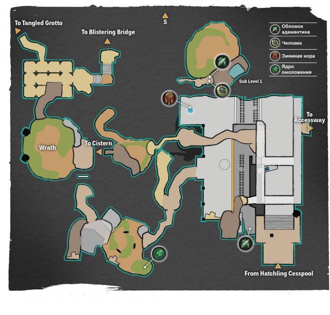 Прохождение Darksiders III – Гнев (карта Разбитой станции)