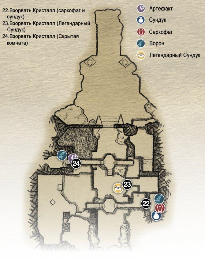 Прохождение God of War – Глава 10: Пещера Фрейи, Священная Роща и Хельхейм (карта Хельхейма)