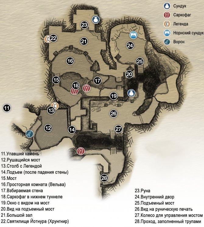 Прохождение God of War – Глава 2: Путь к горе (карта Руин Йотнура. Часть 1)